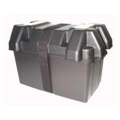 BATTERY BOX WITH LID AND STRAP