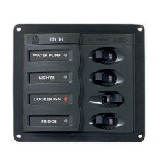CIRCUIT BREAKER PANEL - 4 SWITCH 20 AMP