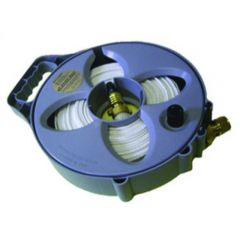 FLAT HOSE DRINKING WATER - 15M WITH REEL
