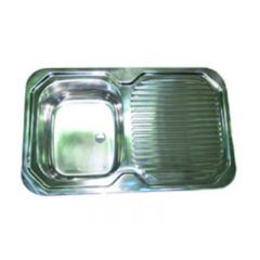 CAMEC STAINLESS STEEL SINK WITH DRAINER
