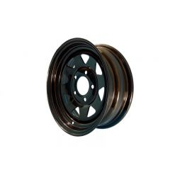 ROAD WHEEL HOLDEN HQ 355MM - BLACK RANGER STYLE