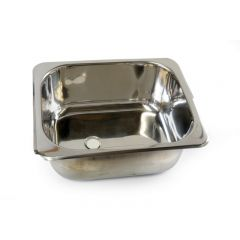 CAMEC STAINLESS STEEL BASIN - 352 X 282 X 155MM