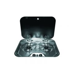 SMEV 2 BURNER STAINLESS STEEL HOTPLATE - 480X370