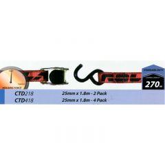 CAMBUCKLE TIE DOWN - 25mmx1.8m