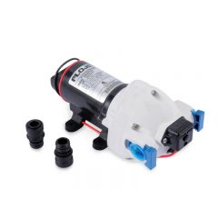 FLOJET 12V TRIPLEX PUMP C-TICK QUAD FITTINGS