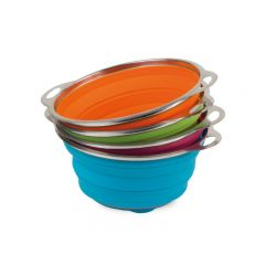 POP UP COLANDER - ASSORTED COLOURS