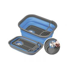 POP UP DISH TRAY AND TUB - BLUE