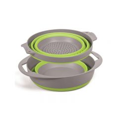 POP-UP COLANDER AND BOWL - GREEN