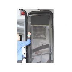 PREMIUM SECURITY DOOR BLIND - HALF HEIGHT - SUIT 1822x622mm - LH HINGE