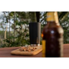 TRAVINO 5 O'CLOCK STAINLESS TUMBLER - MATTE BLACK