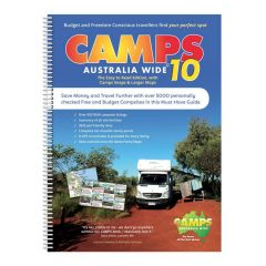 CAMPS 10 AUSTRALIA WIDE A4 SPIRAL BOUND