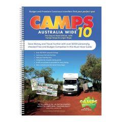 CAMPS 10 AUSTRALIA WIDE A4 SPIRAL BOUND