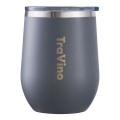 TRAVINO STEMLESS INSULATED TUMBLER - MATTE GREY