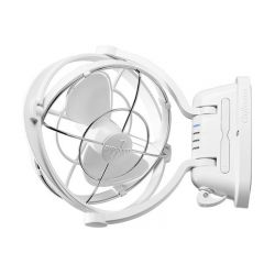 SIROCCO FAN 12/24V 3 SPEED - WHITE