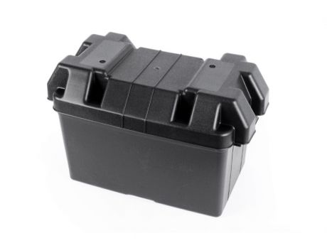 BATTERY BOX LARGE WITH LID AND STRAP