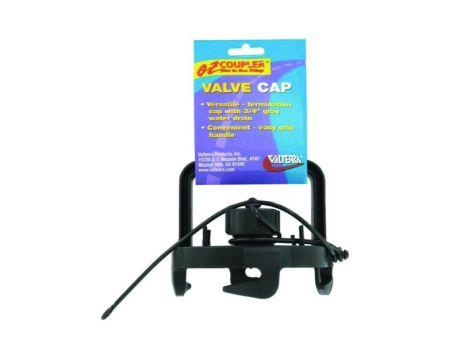 EZ COUPLER CAP & HANDLE - BLACK
