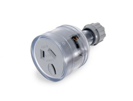 EXTENSION SOCKET - CLEAR