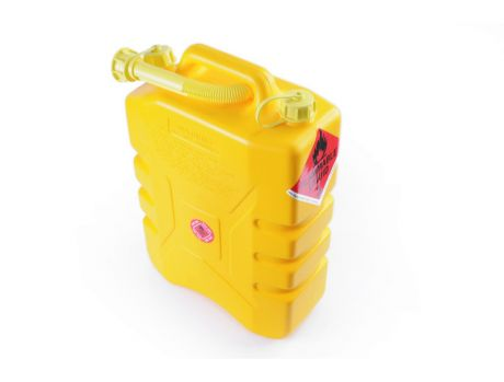 20 LITRE DIESEL DRUM - YELLOW PVC