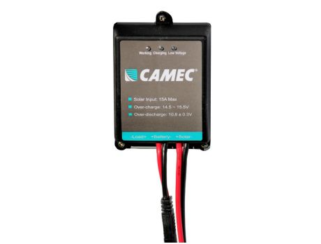 CAMEC SOLAR CHARGE REGULATOR - 15 AMP