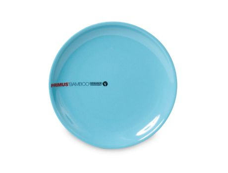 BAMBOO SIDE PLATE - BLUE