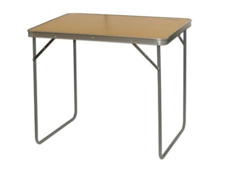 CAMEC ALUMINIUM TABLE WITH MDF TOP