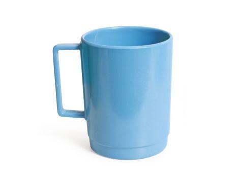 MELAMINE STACKABLE MUGS - BLUE