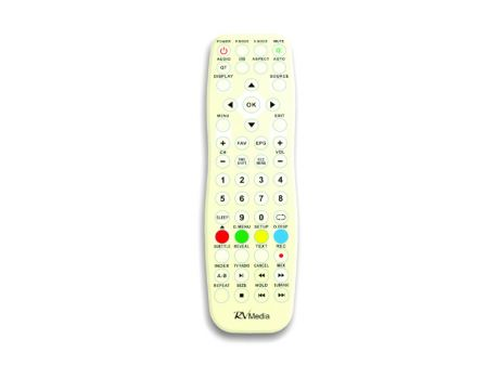 WEATHER RESISTANT REMOTE CONTROL TO SUIT RV MEDIA TV'S