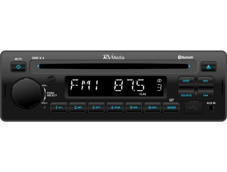 RV MEDIA BLUETOOTH CD/USB AM/FM TUNER