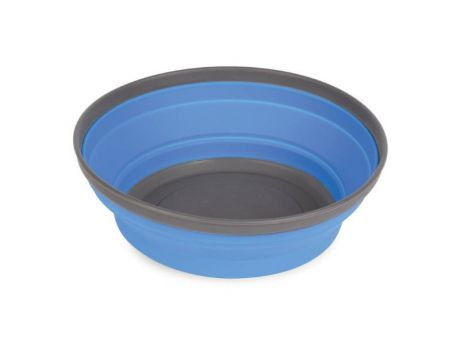 POP-UP NYLON/SILICONE BOWL - BLUE