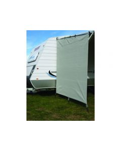 CAMEC PRIVACY END CARAVAN 2.1M X 1.8M WITH ROPES AND PEGS